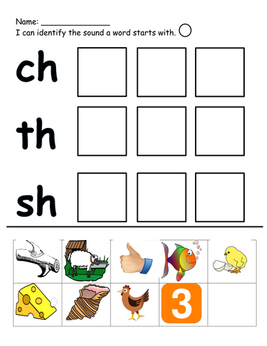 ch th and sh cut and stick by klms87 teaching resources tes