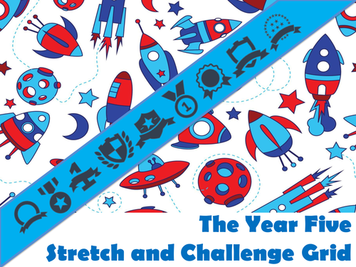 The Year 5 Stretch and Challenge Grid