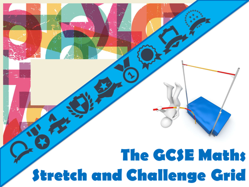 The GCSE Maths Stretch and Challenge Generator by mikegershon ...