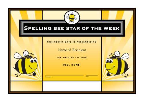 36 Spelling bees lists and multi-task scheme for phonic phase 4