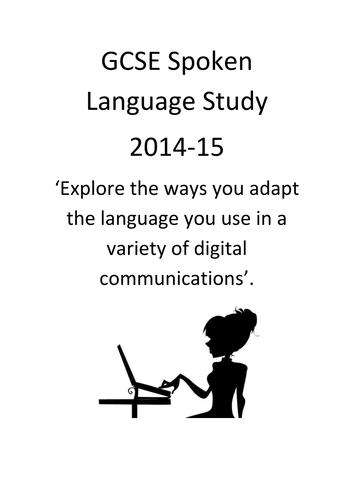 Starter packs for GCSE Spoken Language 2014-15