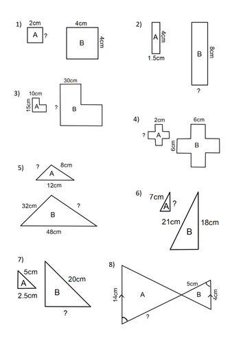 Printables. Scale Factor Worksheet. Agariohi Worksheets Printables