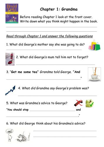 georges marvellous medicine resources