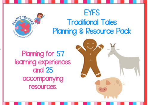 Traditional Tales - EYFS Planning and Resources
