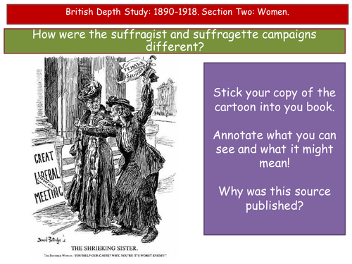 OCR British Depth Study Women