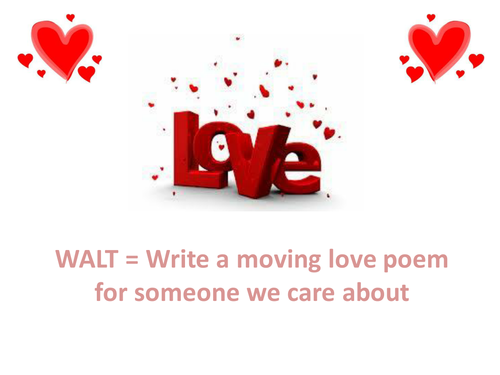 A Lesson on Love Poetry for St. Valentine's Day