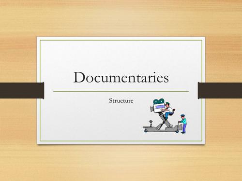 Documentaries - STRUCTURE