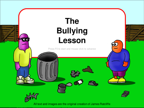 A Great Bullying Lesson