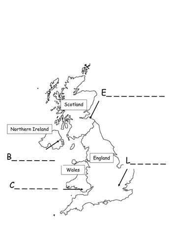 Map Of Northern Ireland Cities.Uk Capital Cities Map