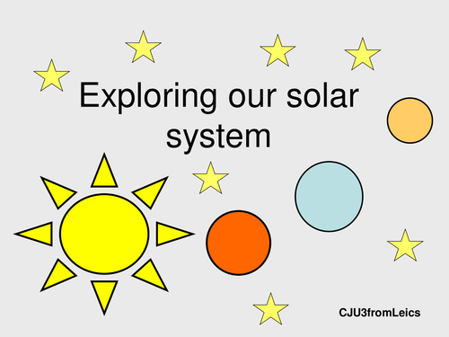 EXPLORING OUR SOLAR SYSTEM. Planets