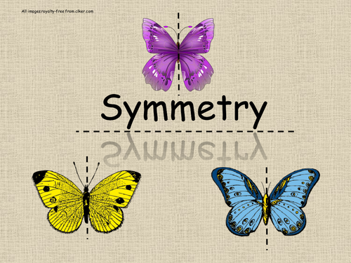 Symmetry - Line & Rotational