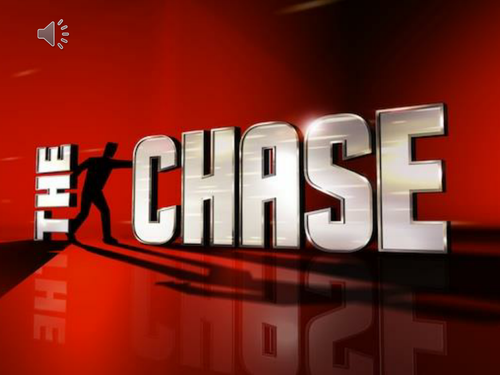 Plenary based on itvs the chase by inadifferentclass teaching the chase gameshow toneelgroepblik Images