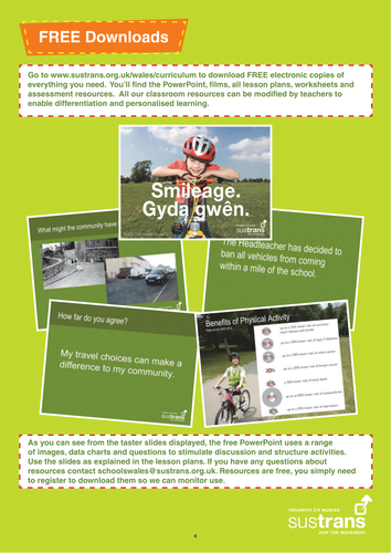Sustrans Literacy and Numeracy Resources