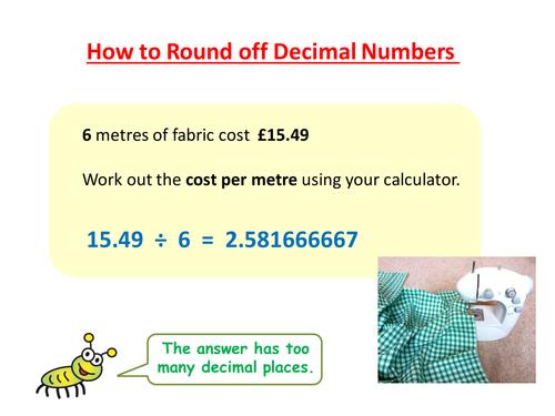 Rounding off Decimal Numbers