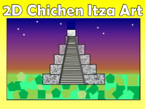 ks2 mayan art chichen itza temple up to 3 lessons in 1 full colour childrens instructions by thefutureteacherfoundation teaching resources tes