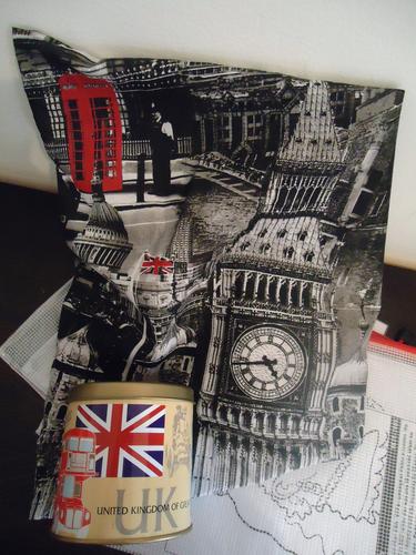 Great Britain topic bag