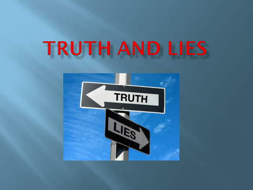 PP Assembly on Truth and Lies