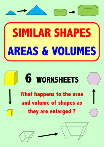 Similar Shapes - Areas and Volumes