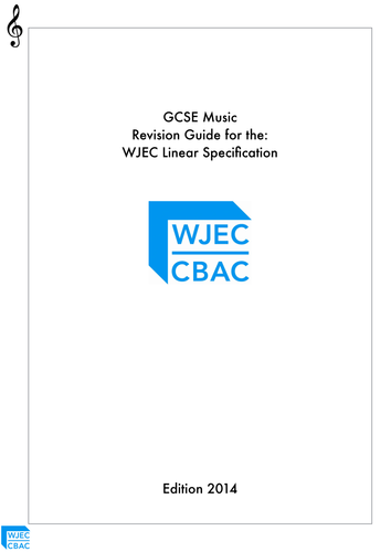 WJEC GCSE Music Revision Guide