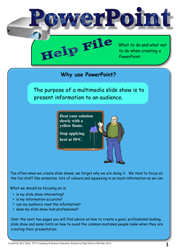 How to Create a Great Looking PowerPoint