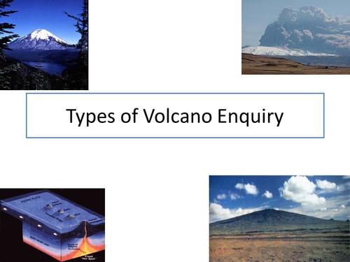 Type of volcano Enquiry