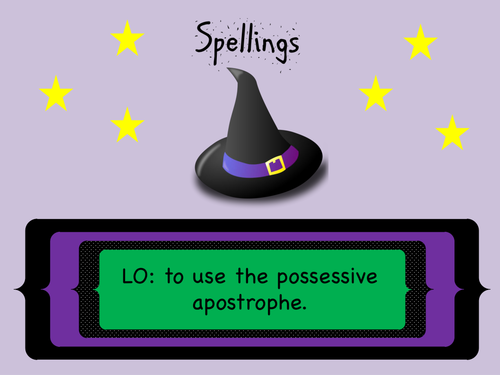 Year 3 and 4 Spellings/ Grammar (SPaG): Possessive Apostrophe with (regular) plural words.