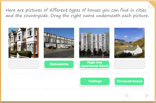 Vocabulary For Houses By Ktm15 Teaching Resources Tes