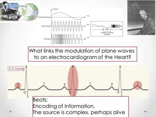 Information Wave Theory: of Bits and Beats