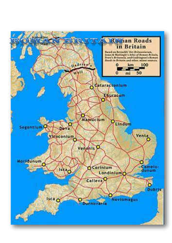 Roman maps and comp directions by mistersquirrell | Teaching ... on
