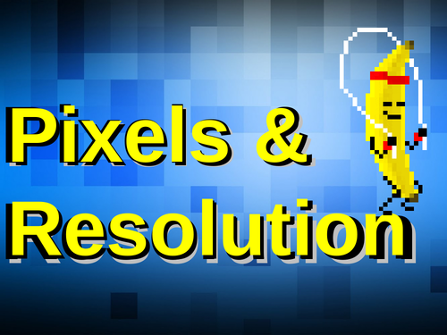 Pixels and Resolution A-level Physics