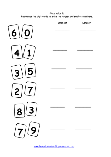 Maths Worksheets Year 1