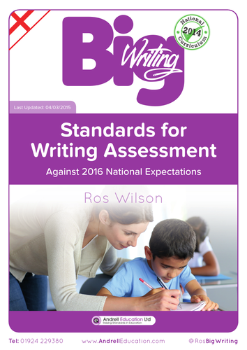 Ros Wilson NEW curriculum writing levels
