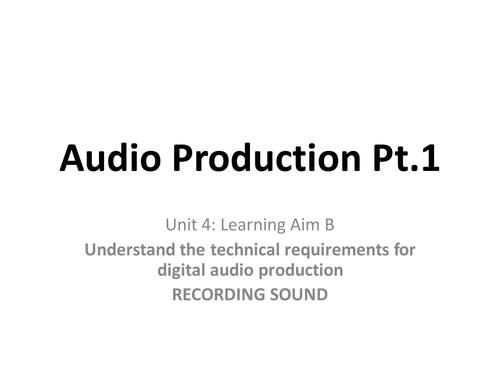 Creative Digital Media Production Unit 4