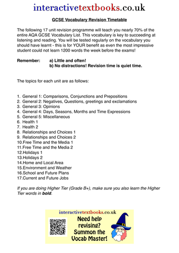 gcse french coursework on holidays Wjec gcse in french the gcse french specification will naturally enhance the european and global travel and holidays, media.