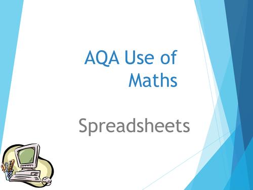 Basics of spreadsheets