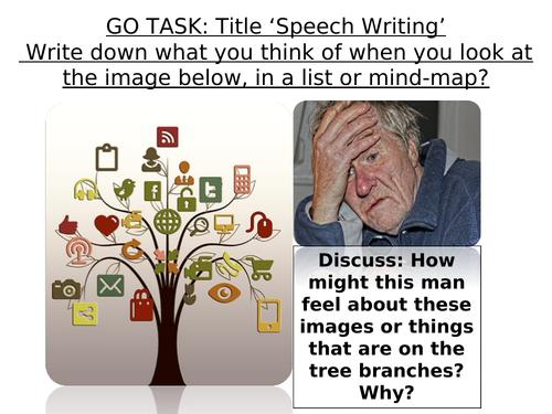 Speech Writing - Transactional Writing - Exam Preparation