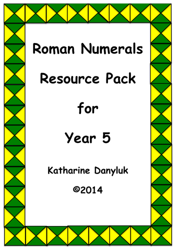 Place Value, Negative Numbers, Roman Numerals.