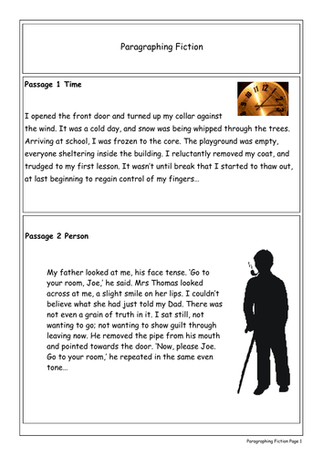 Getting It Right - Paragraphing Fiction