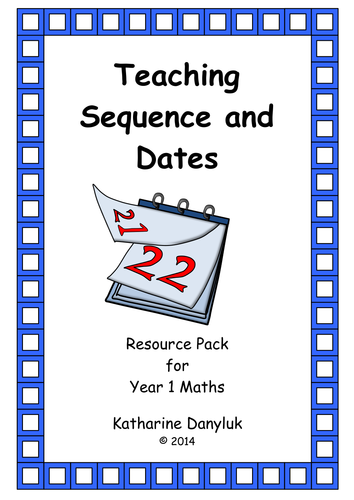 Time, Sequencing, Dates, Geometry for Year 1 Combined Pack