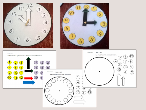 Time Worksheets time worksheets one hour later Pack 1: Telling the time (analogue/digital) - 12 hr clock ...