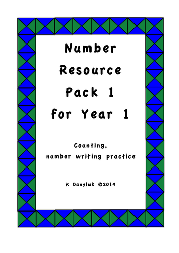 Number for Year 1 Jumbo Pack 1 Counting, Number Lines, Addition
