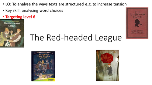 Analysing tension in The Red-headed League