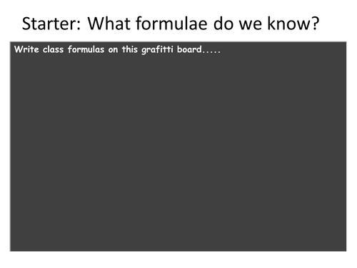 Mathematics of Words V - Speed  Formulae
