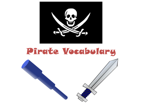 30 Images To Learn Pirate Vocabulary!
