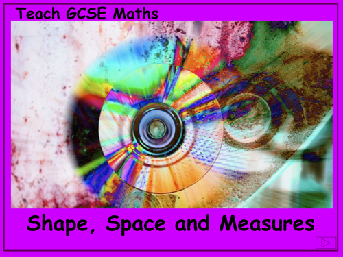GCSE Maths shape , space and measure