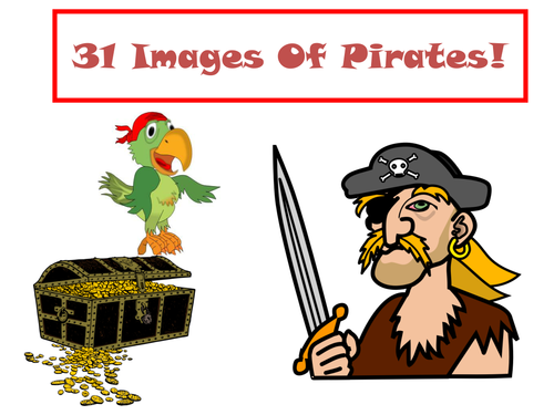 31 Images Of Pirates!