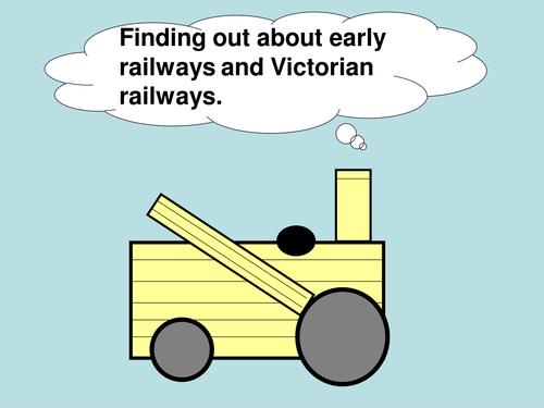 VICTORIAN RAILWAYS and early railways