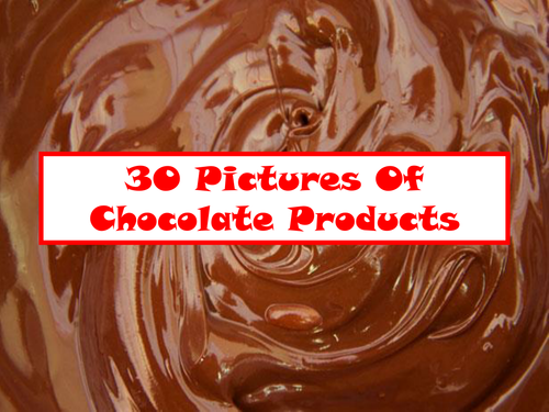 30 Pictures Of Chocolate Products