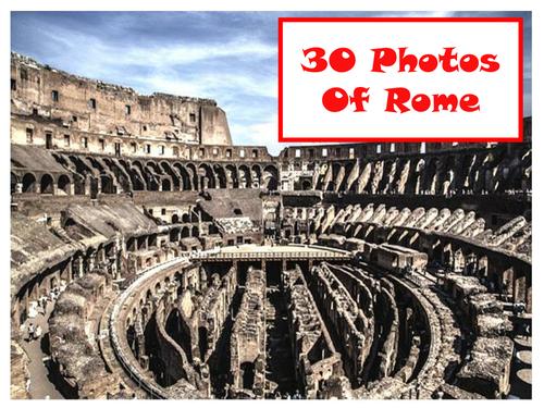 30 Photos Of Rome