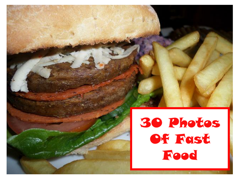 30 Photos Of Fast Food